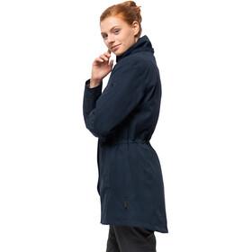 Jack Wolfskin Madison Avenue Jas Dames blauw